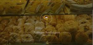 Site pour boulangerie pâtisserie