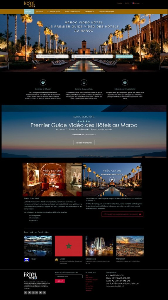 création site internet Casablanca